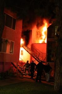 Buena Park Apt Fire2